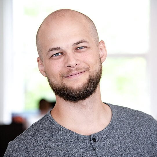 Senior Graphic Designer Andreas Haugland